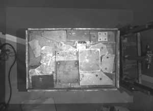 machine vision systems overlapping metal parts
